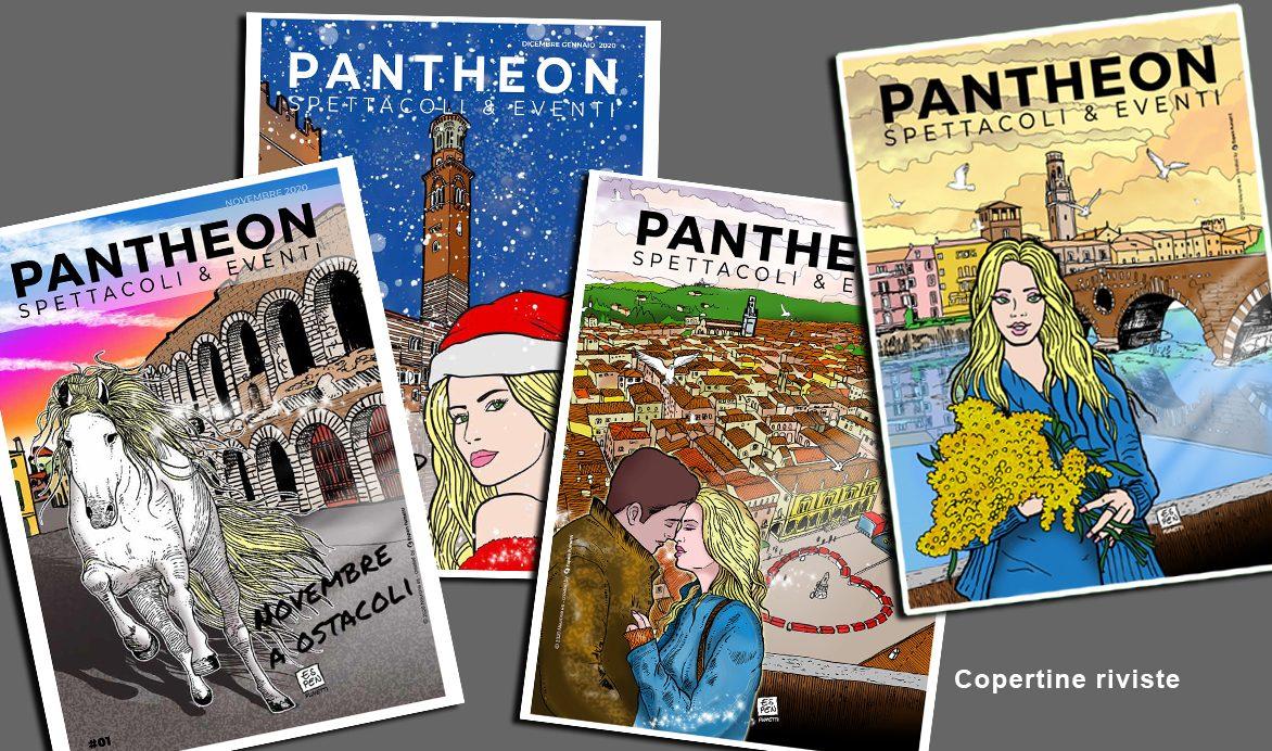 Pantheon copertina